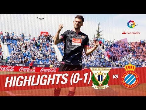 Resumen de CD Leganés vs RCD Espanyol (0-1)