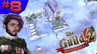 TEMOS UM CEMITÉRIO!!! - The Guild 2 Renaissance #8 - (Gameplay/PC/PT-BR) HD
