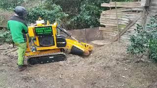 p38x stump grinder