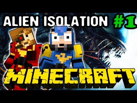 Alien : A Crafters Isolation - Ep : 1 : Une station habitée - Coop Minecraft Map