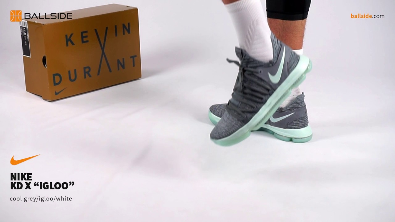 f11fe7644a9760 Nike KD X Igloo on feet - YouTube