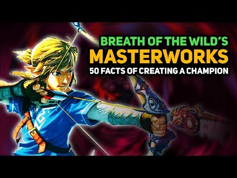 50 INTERESTING FACTS of Breath of the Wild's Masterworks Book (Creating a Champion)