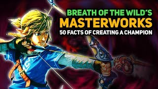 "50 INTERESTING FACTS of Breath of the Wild's ""Masterworks"" Book (Creating a Champion)"