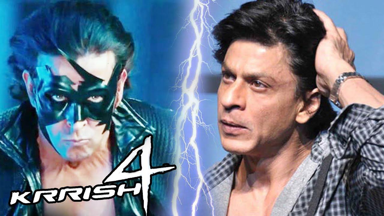 Hrithik's KRRISH 4 Clash With Shahrukh's DWARF In Christmas 2018