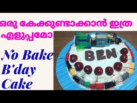 Birthday Cake No Baking