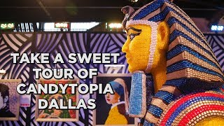 Candytopia, an immersive art exhibit made of candy, opens in Dallas