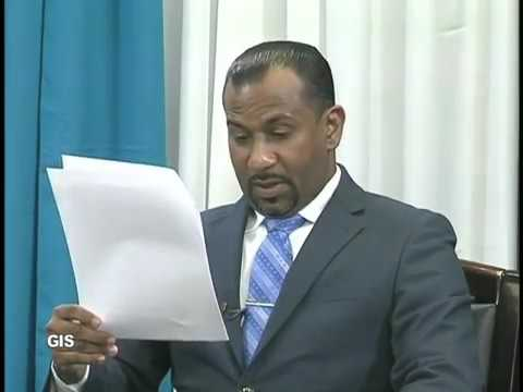 Press conference by Daarsrean Greene, Director of Public Prosecutions Saint Lucia
