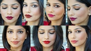 My Favorite Fall lipsticks for Indian/Brown/Tan/Medium Skin!
