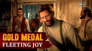 Red Dead Redemption 2 - Mission #64 - Fleeting Joy [Gold Medal]