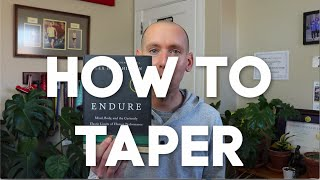 8 Tapering Truths f๐r Runners: How to Taper for Peak Performance