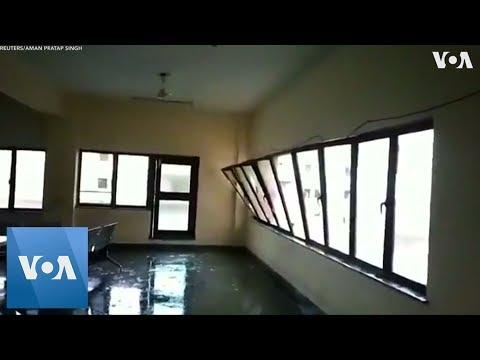 Cyclone Fani Hits Eastern India