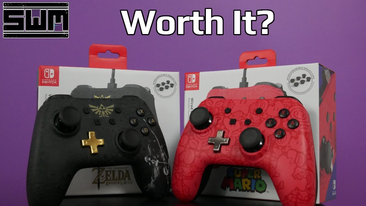 PowerA Nintendo Switch Wired Controller Plus Review! Worth The Money? +  Giveaway!