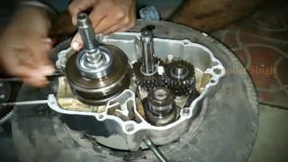 How it's made: Hero Honda full engine fitting - 100cc bike engine