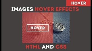 Image Hover Effect - Slide in Overlay from the Left