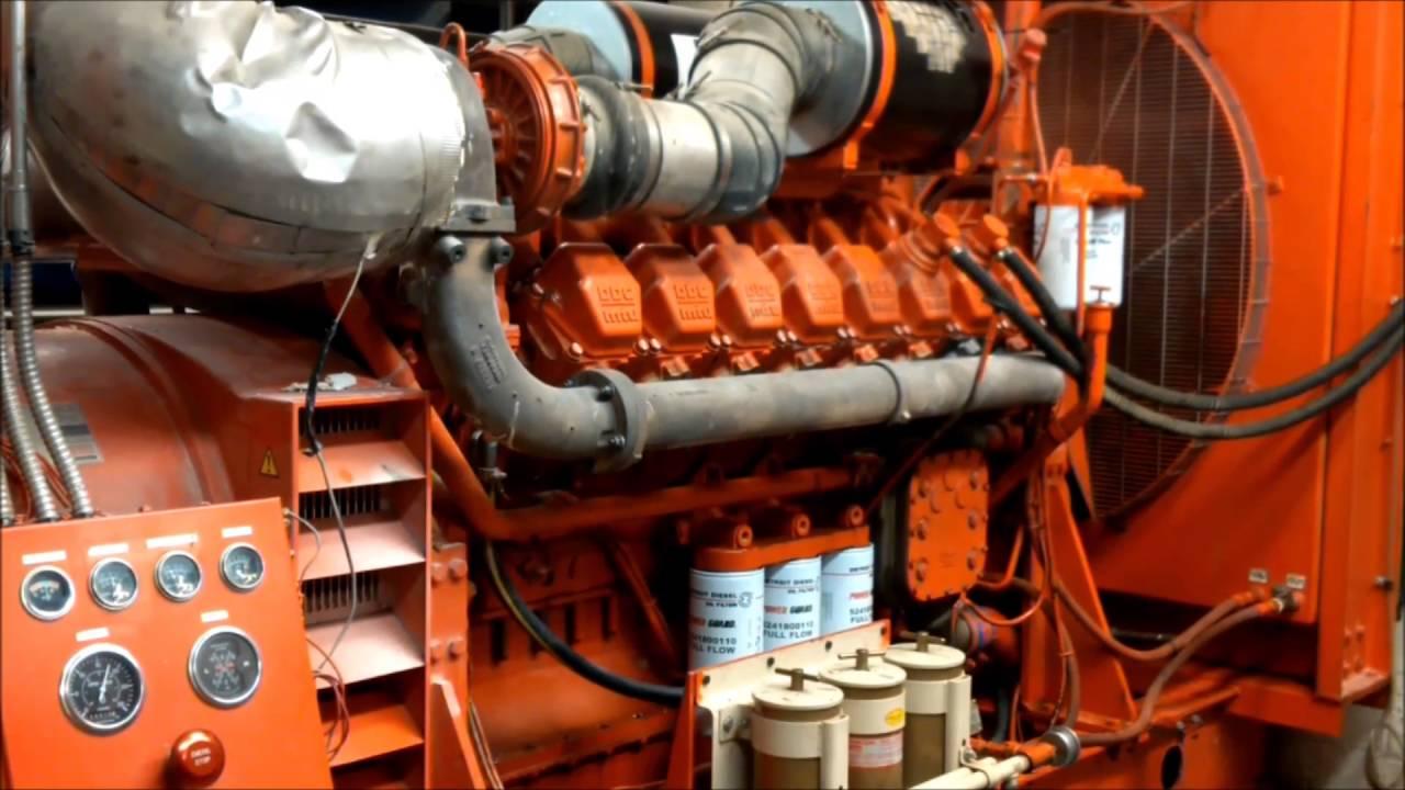 MTU 16V2000 Diesel Engine Stand-By Generator: Full Load Test