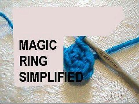 How To Start Amigurumi Magic Ring : CROCHET - MAGIC RING SIMPLIFIED, CROCHET TECHNIQUE, how to ...