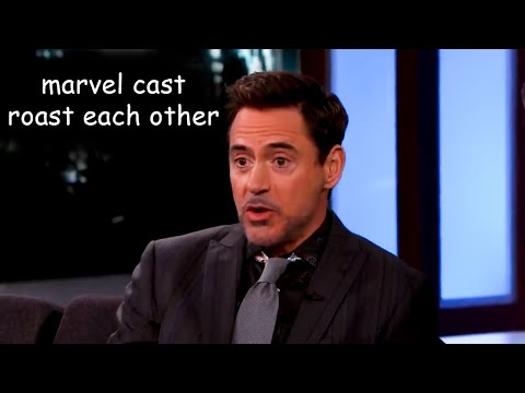 avengers cast roast each other