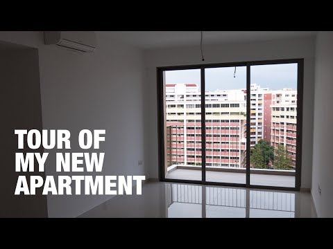 A tour of my new (empty) apartment