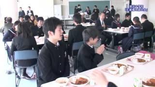 おやべらんど『津沢中学校「生産者と語る会」』2014年11月27日(木)