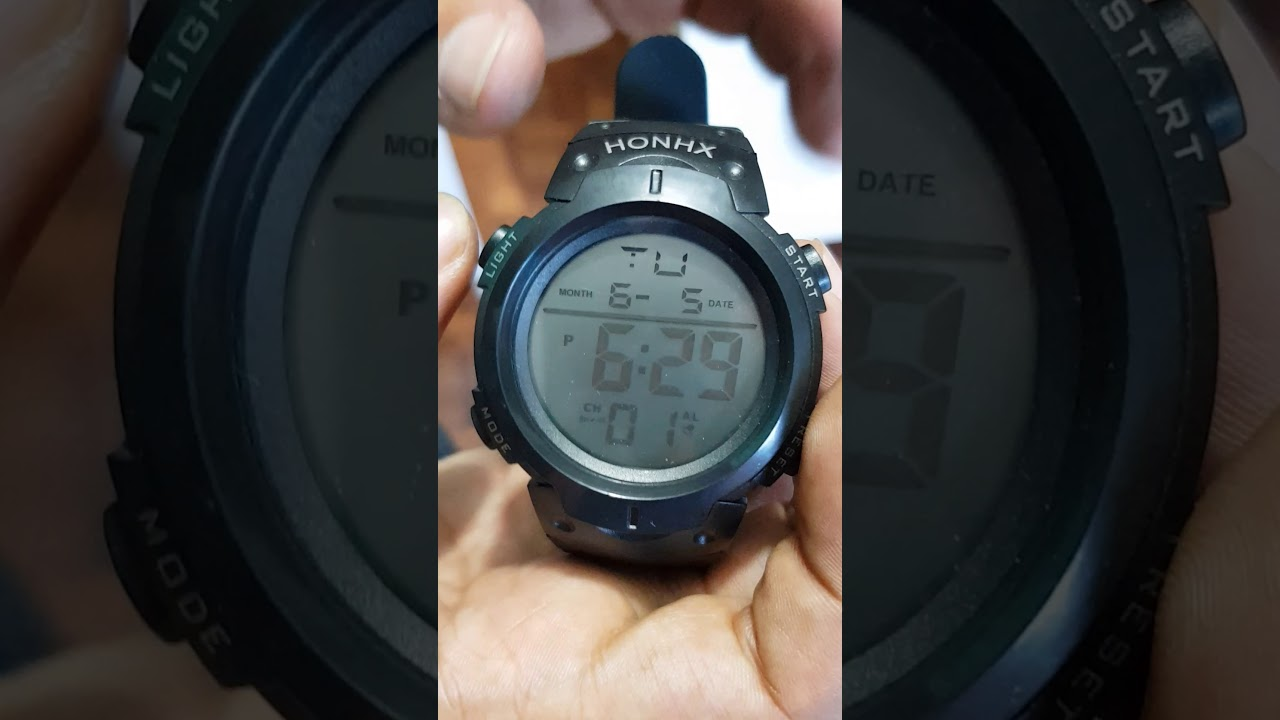 Reloj Sport Honhx Configurar Time Reloj Configurar O8wPXn0k