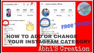 How To Change Instagram Category || Full Tutorial thumbnail