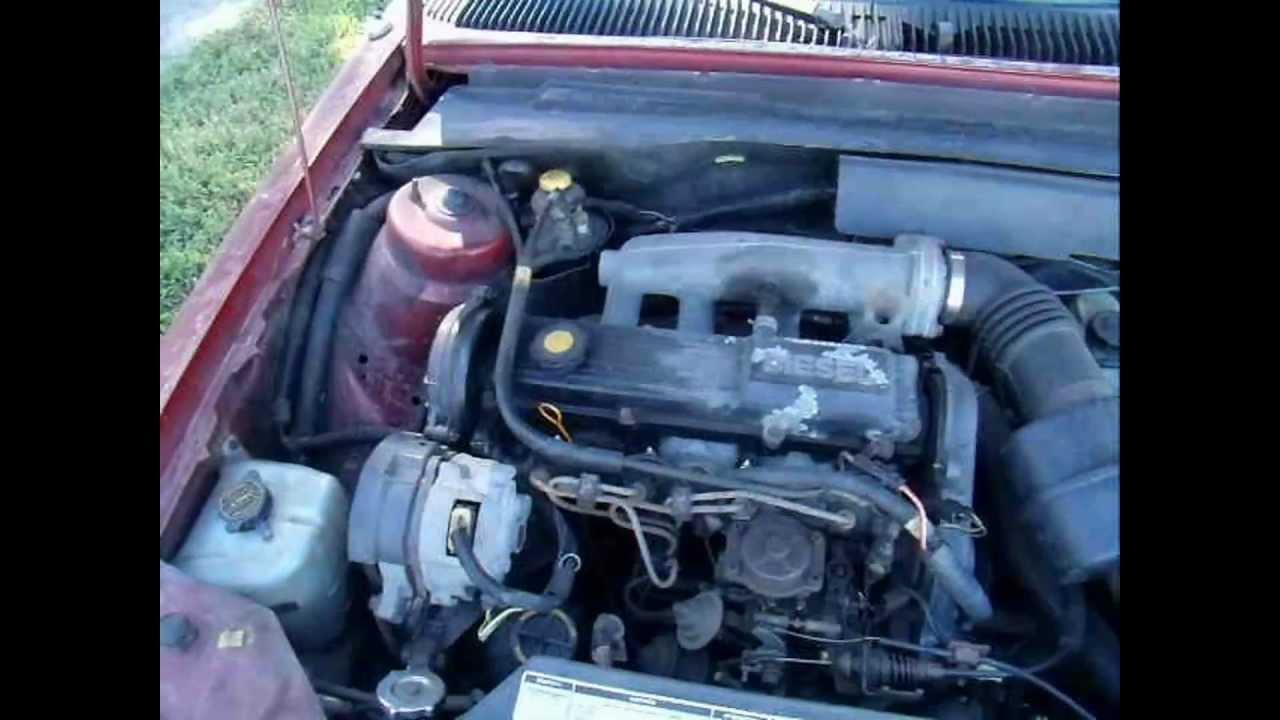 50 Mpg Hero 1986 Ford Tempo Factory Diesel 2 0 Rf Mazda