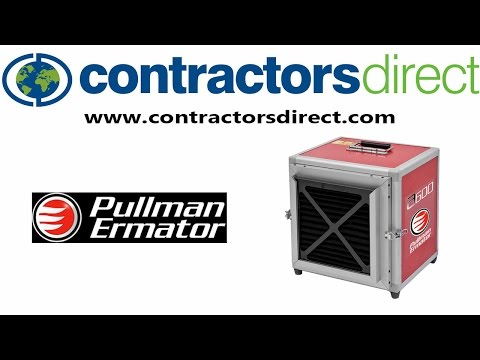 Pullman-Holt Air Scrubbers From Contractors Direct