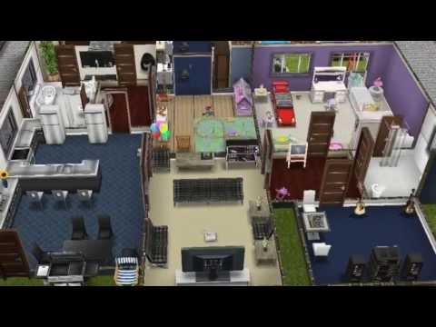 My Player Design House In Sims Freeplay YouTube