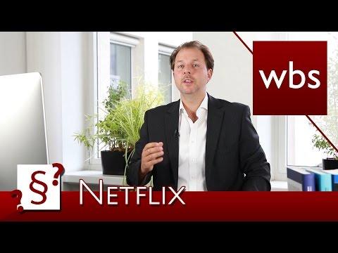 Darf ich meinen NetflixAccount mit Freunden teilen?  Rechtsanwalt Christian Solmecke