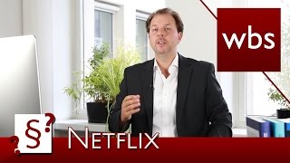 Darf ich meinen Netflix-Account mit Freunden teilen? | Rechtsanwalt Christian Solmecke