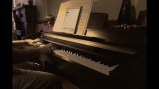 Bon Iver - I Can't Make You Love Me Piano Cover