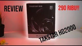 hEADPHONE MONITORING MURAH (REVIEW TAKSTAR HD2000)