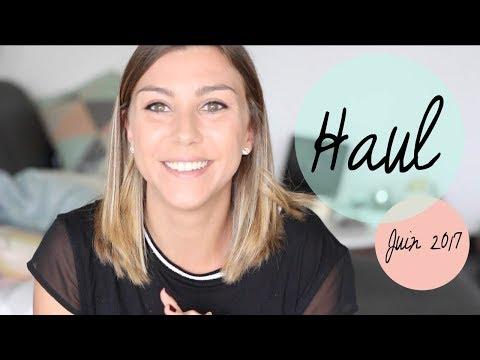 HAUL | Juin 2017 Beauté, accessoires sport, cuisine & co !