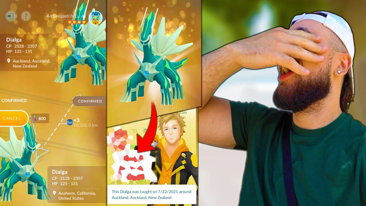 INSANE SHINY LUCKY TRADE OUTCOME! (Pokémon GO)