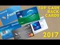 Top CASH BACK Credit Cards 2017