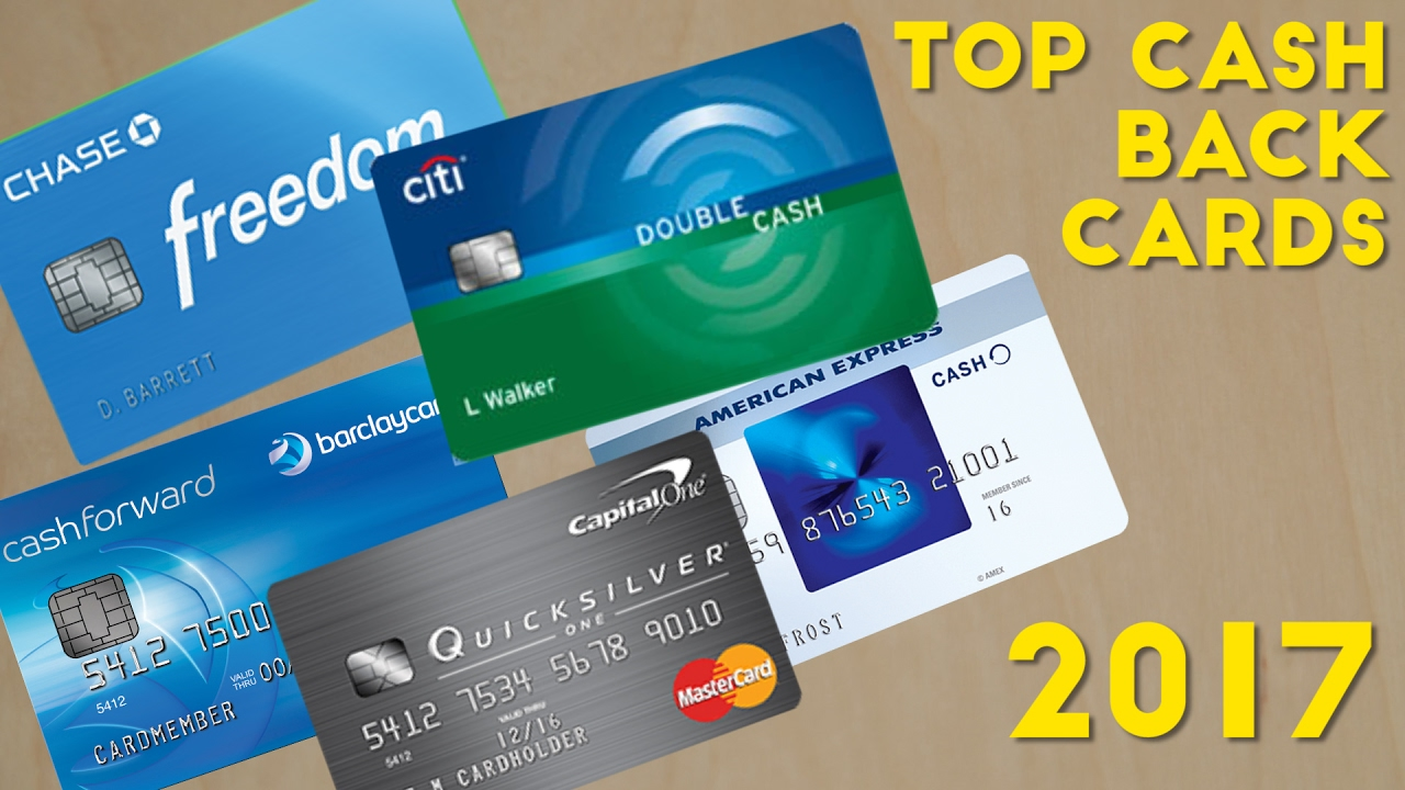 Top CASH BACK Credit Cards 2017 - YouTube