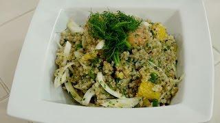Quinoa, Citrus, and Fennel Salad