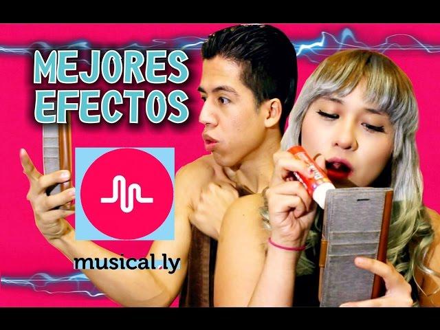 Cómo usar MUSICAL.LY | EFECTO BORROSO | Cómo volverte famoso en musical.ly
