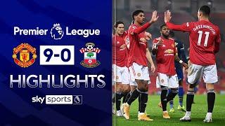 Man Utd fire NINE past NINE-man Saints! 🤯 | Man United 9-0 Southampton | EPL Highlights