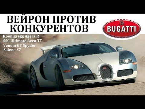 Bugatti Veyron.ПРОТИВ САМЫХ