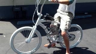 Chris' Awesome Ghost Electra Motorized Cruiser!