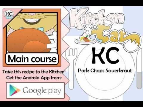 Pork Chops Sauerkraut - Kitchen Cat