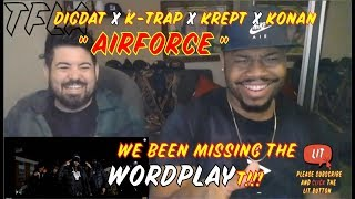 DigDat - Air Force (ft. K Trap, Krept & Konan) (Remix) | (THATFIRE LA) Reaction