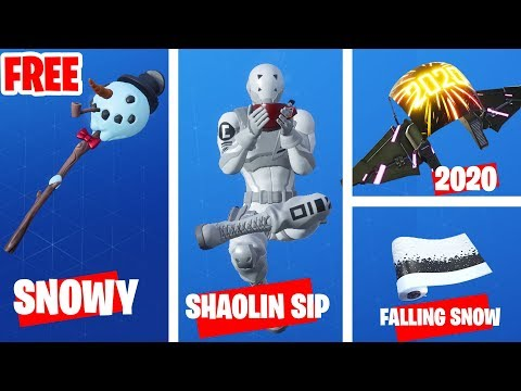 All Christmas Rewards Chapter 2 Fortnite - 14 Days Of Fortnite All Rewards 2019 - Shaolin Sip Emote