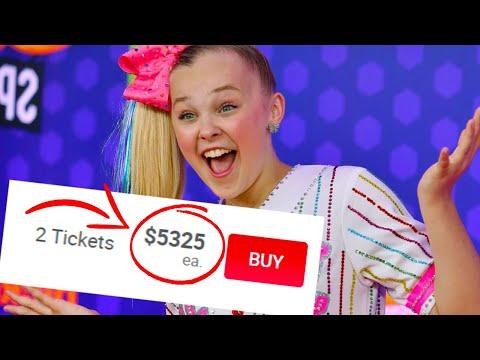You Won't Believe What Jojo Siwa Tickets Cost..