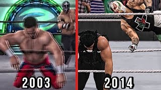 The Evolution Of Rey Mysterio