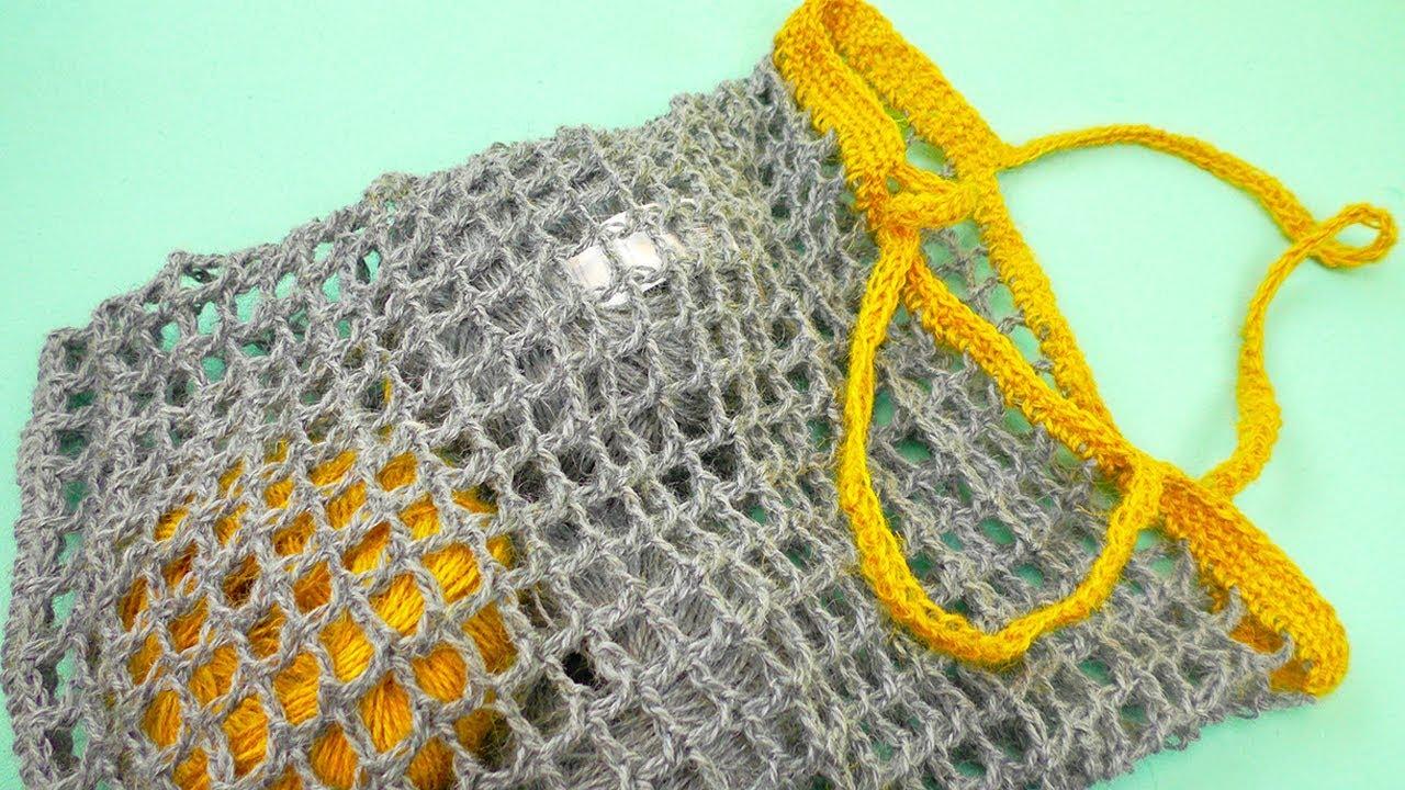 Tasche Häkeln Schnelle Sommer Tasche In Netz Muster Selber Machen