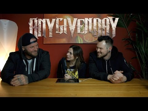 "INTERVIEW | 10 Fragen mit ""ANY GIVEN DAY"""