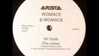 My Dear (The Letter) - Womack & Womack  (Joe Claussell