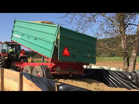 Silage in Slovenia 2017 - Small farm